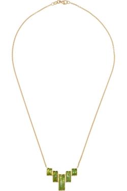 Brooke Gregson - Gold Tsavorite Necklace