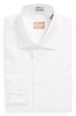 Gitman - Regular Fit Pinpoint Cotton Oxford Point Collar Dress Shirt