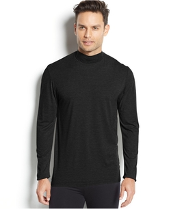 32 Degrees Heat By Weatherproof - Thermal Long Sleeve Mock Neck Shirt