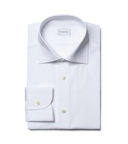 Ermenegildo Zegna  - White French-Collar Shirt