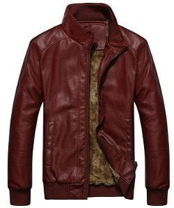 EightFive Clothing - Faux Leather Moto Jacket