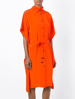 Kenzo - Tie Waist Shirt Dress