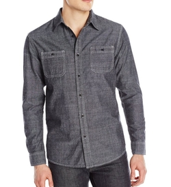 Lee - Textured Chambray Worker Shirt