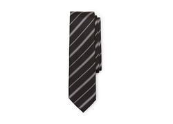 Vince Camuto - Zoe Stripe Silk And Polyester Tie