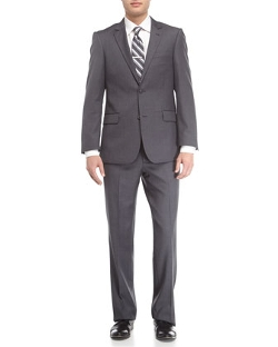 Neiman Marcus - Wool Twill Modern Fit Suit