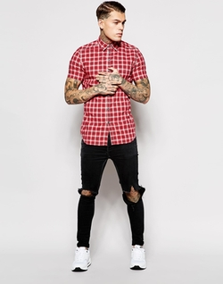 Diesel - Short Sleeve Check Shirt