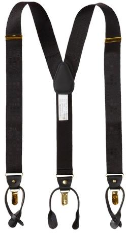 Geoffrey Beene - Basket Weave Suspenders