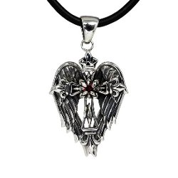 Moon Wings - Sterling Silver Angel