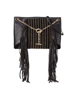 Jimmy Choo - Alexia Studs and Fringe Shoulder Bag