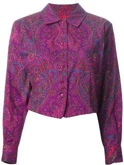 Kenzo Vintage  - Paisley Print Shirt