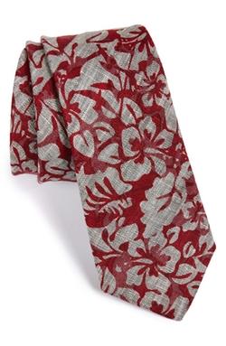 W.R.K  - Floral Linen Tie