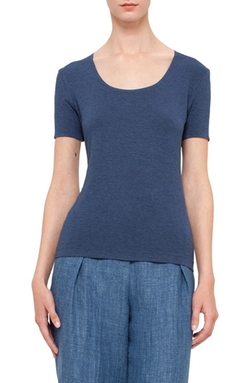 Akris Punto - Scoop Neck Tee