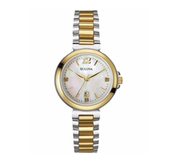 Bulova - Gold Stainless-Steel Quartz Watch