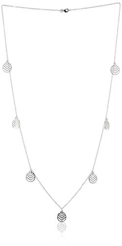 Kensie - Disk Station Necklace