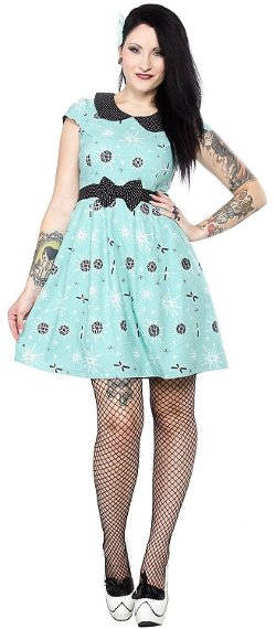 Sourpuss Kids - Sputnik Lizzie Dress