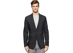 Calvin Klein  - Slim-Fit Notched-Lapel Blazer