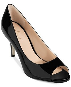Cole Haan - Air Lainey Peep Toe Pumps Shoes
