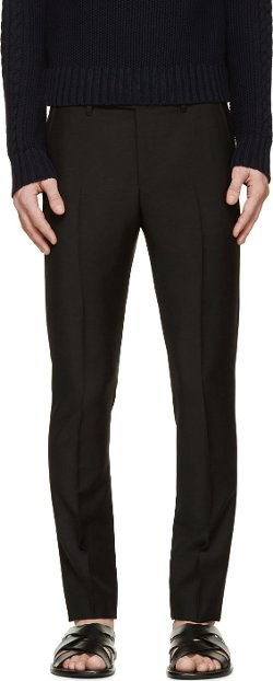 Acne Studios  - Wool Drifter Trousers
