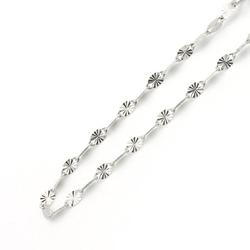 Double Accent - Dual Pave Mirro Chain Necklaces