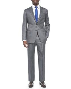 Armani Collezioni  - G-Line Pindot Wool Suit