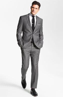 Hugo Boss - James/Sharp Trim Fit Wool Suit
