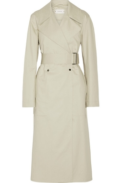 Lemaire - Oversized Cotton-Gabardine Trench Coat