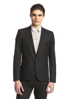 The Kooples - Slim Fit One Button Blazer