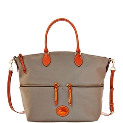 Dooney & Bourke - Nylon Large Pocket Satchel Bag