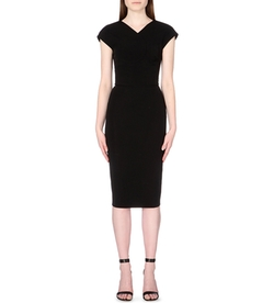 Victoria Beckham  - Heart Cap-Sleeved Dress