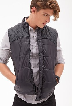 Forever 21 - Quilted Puffer Vest