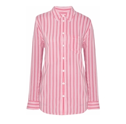 Equipment - Reese Striped Washed-Silk Shirt