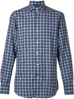 Giannetto Portofino  - Plaid Shirt