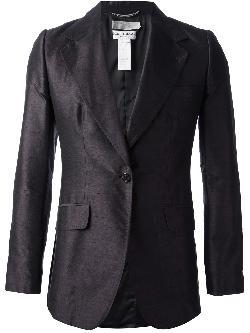 DOLCE & GABBANA VINTAGE  - Satin-Lapel Tuxedo Jacket, Black