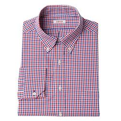 Izod - Classic-Fit Plaid Stretch Dress Shirt