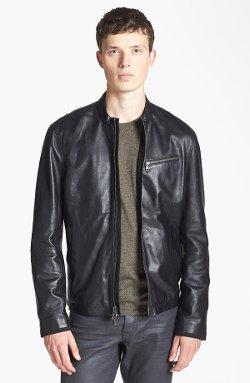 John Varvatos Star USA  - Leather Moto Jacket