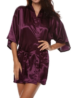 SexyTown - Satin Lounge Robe
