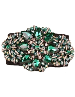 MFrannie - Vintage Delicate Crystal Rhinestones Waist Belt