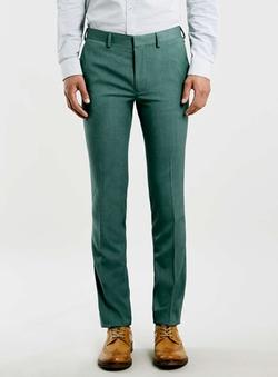 Topman - Ultra Skinny Fit Suit Trousers