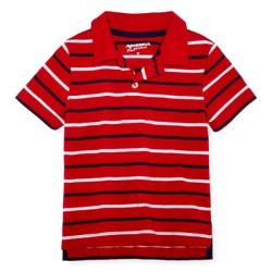 Arizona  - Short-Sleeve Striped Polo