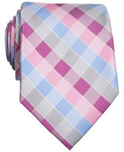 Perry Ellis  - Indus Check Slim Tie