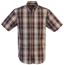 Gioberti - Casual Plaid Button Down Shirt