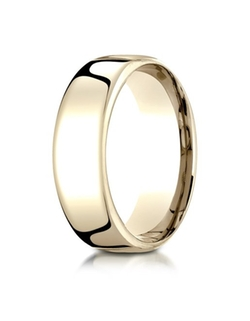 Banvari - Benchmark 18K Yellow Gold Wedding Band Ring