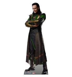 Loki Life Size Cardboard Standup - Advanced Graphics