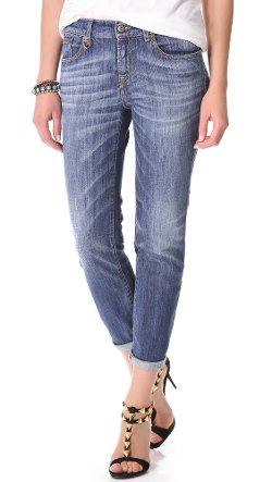 R13  - Relaxed Skinny Jeans