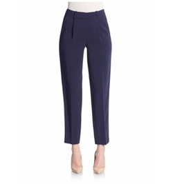 Rebecca Taylor - Cropped Refined Suiting Pants