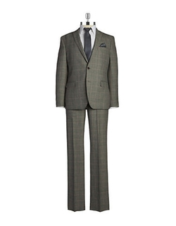 Tallia Orange  - Two-Piece Wool Suit