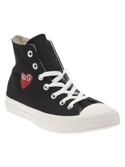 Comme Des Garçons Play  - Hi Top Sneakers