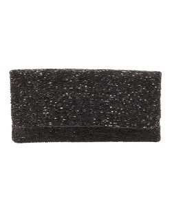 Moyna	  - Beaded Flap-Top Clutch