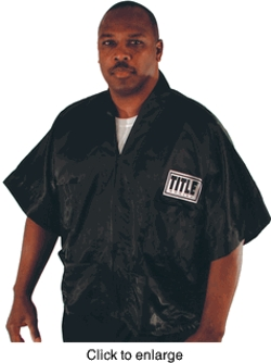 Title - Boxing Stock Satin Corner Jacket
