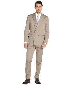 Brunello Cucinelli - Cotton Double-Breasted Suit